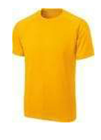 Orange Color Pure Cotton Men's T-Shirt - TRSC-4