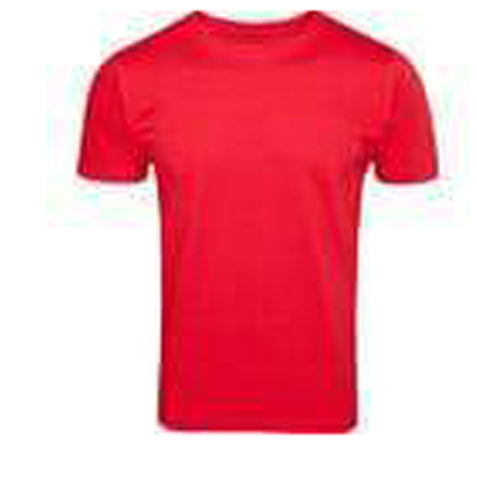 Red Color Pure Cotton Men's T-Shirt - TRSC-8