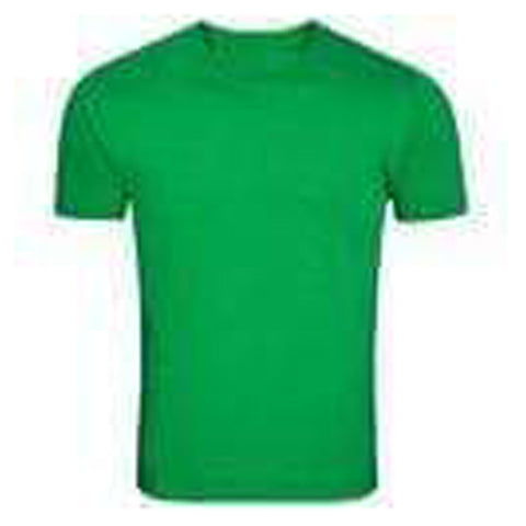 Green Color Pure Cotton Men's T-Shirt - TRSC-9