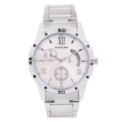 Buy Silver Color Metal Analog Watch