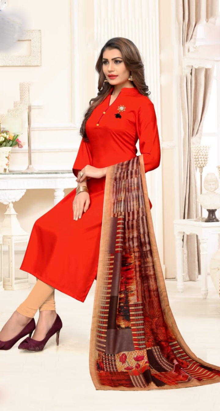 b0b11fdef6 Buy Red Color Heavy Rayon Stitched kurti