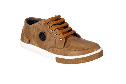 Tan Color Denim Men Shoe - Tanbakkal