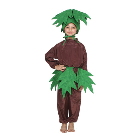Multi Color Cotton Blend Fancy Costume Dress  - Tree-1