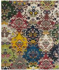 Multi Color Cotton Floor Rug - UE-DR-01