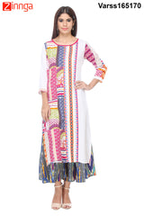 Multi Color Rayon Kurti