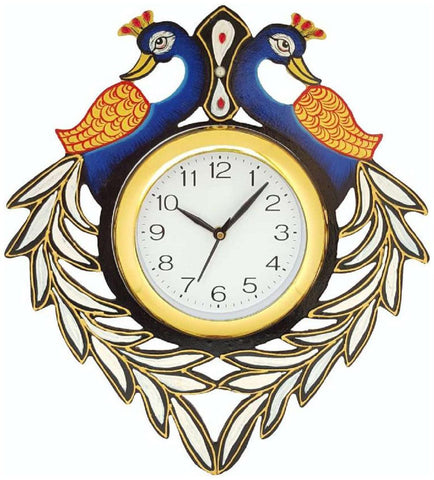Multi Color Wooden Analog Wall Clock - VB-Heritage-Wall-Clock-033