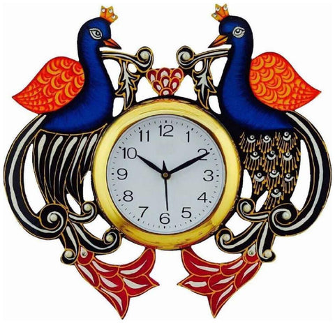 Multi Color Wooden Analog Wall Clock - VB-Heritage-Wall-Clock-131