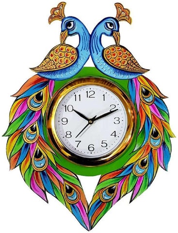 Multi Color Wooden Analog Wall Clock - VB-Heritage-Wall-Clock-164
