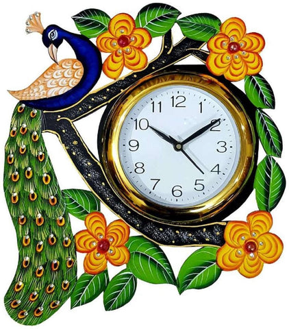 Multi Color Wooden Analog Wall Clock - VB-Heritage-Wall-Clock-177