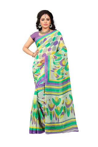 Multi Color Georgette Saree  - VDDHN330C