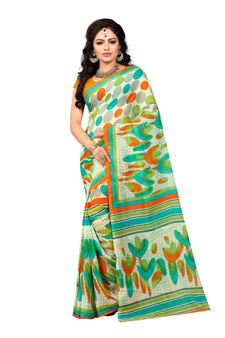 Multi Color Georgette Saree  - VDDHN330