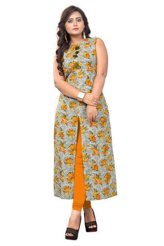 Multi Color Cotton Stitched Kurti - VF-KU-147