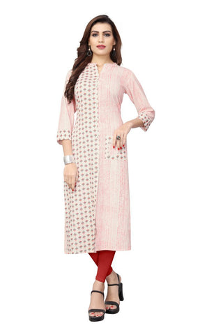 Multi Color Cotton Stitched kurti - VF-KU-197