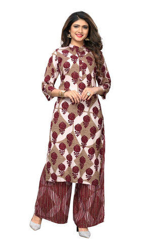 Multi Color Rayon Stitched Kurti - VF-KU-211