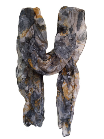 Multi Color PolyCotton Women Scarf - VFH-10317