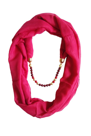 Multi Color PolyCotton Women Scarf - VFH-10342