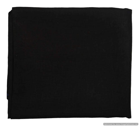 Black Color Linen Mens Shirt Cloth - VS-14