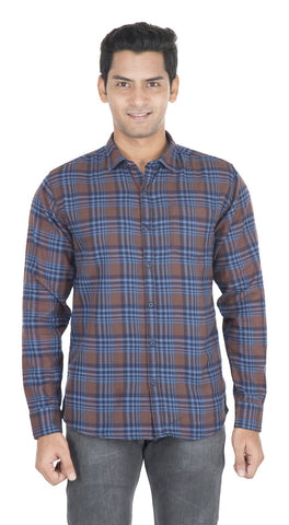 Multi Color Cotton Mens Shirt - VS-6