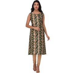 Multi Color Rayon Kurti - VS1005