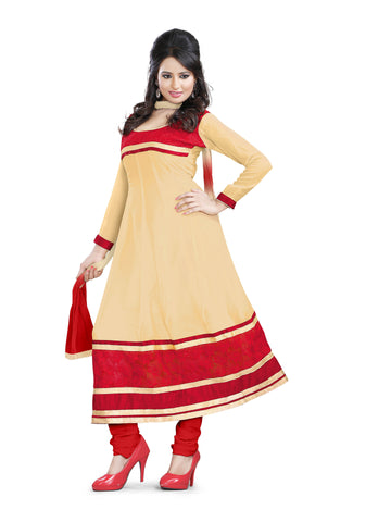 Chicku Color Georgette Unstitched Salwar - VSCHY04