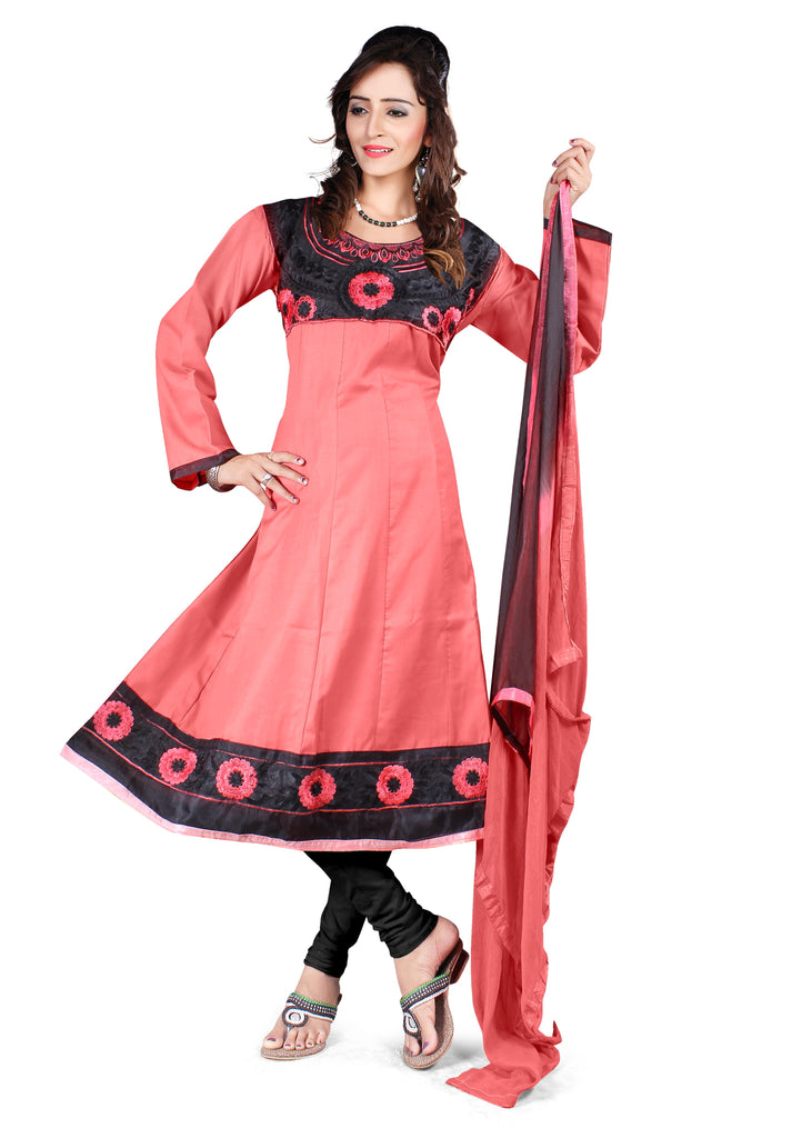 Buy Light Gajri Color Semi Cotton Unstitched Salwar
