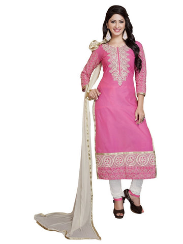 Pink Color Cambric UnStitched Salwar - VSMASTANI708