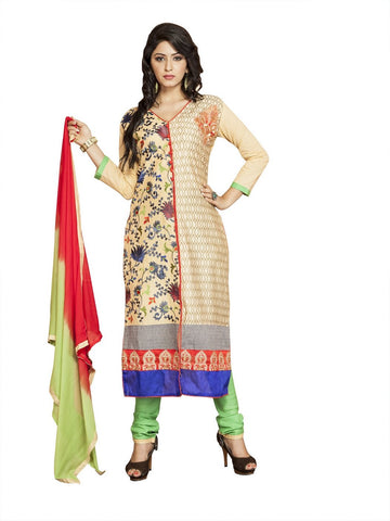 Beige Color Cambric UnStitched Salwar - VSMASTANI710