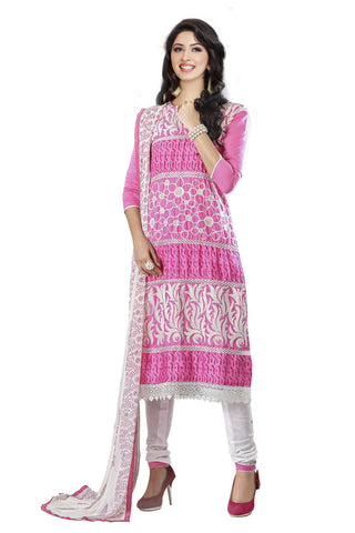 Pink Color Cambric UnStitched Salwar - VSMASTANI807
