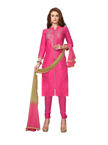 Pink Color Cambric UnStitched Salwar - VSMDMSTNI5002