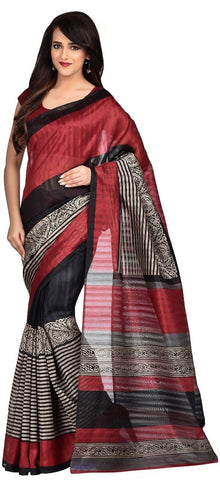Brown Color Art Silk Saree - VSSPSNPR1505B