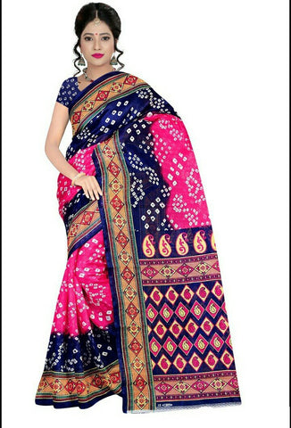 Multi Color Art Silk Saree - VSSPSNPR1506C