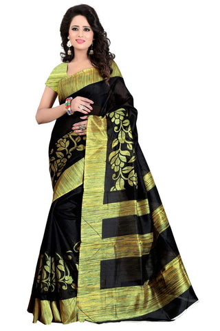Black Color Art Silk Saree - VSSPSNPR1511