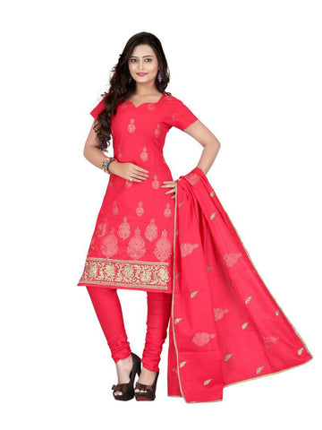 PeachPuff Color Cotton UnStitched Salwar - VSSYN05