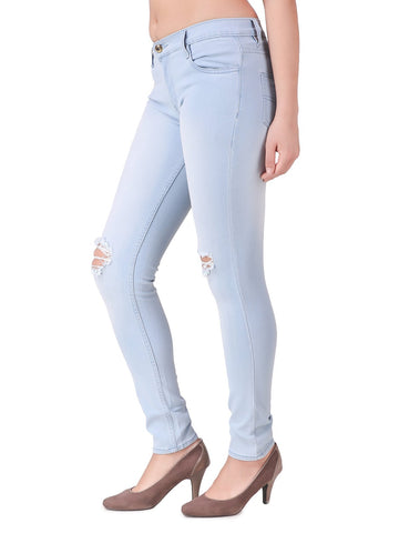 LightBlue Color Denim Jeans - W-T9-LBLUE-28