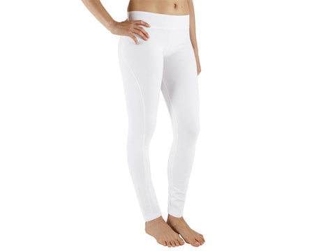 White Color Supplex Lycra Legging - WHITE2-LG