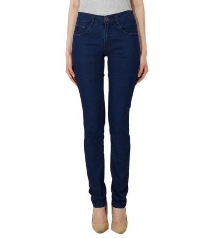 DarkBlue Color Denim Women Jeans - WJ-DBLUE-28