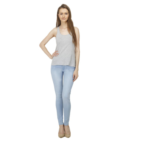 DarkBlue Color Denim Women Jeans - WJ-T9-DB