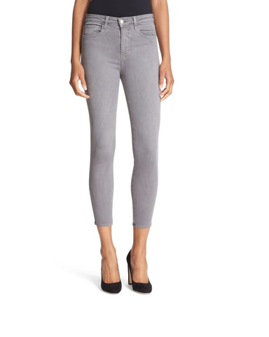 Grey Color Denim Women Jeans - WJ-T9-GREY
