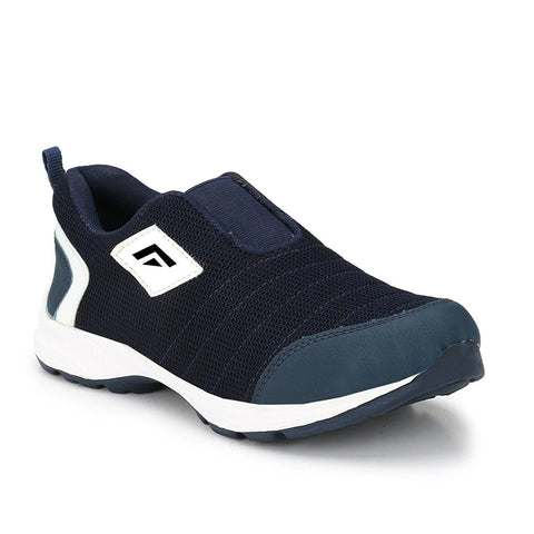 BROOKE Navy Color Synthetic Men Sports Shoes - WK-NAVYBLUE-SPORT