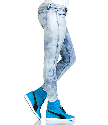 Blue Color Women Denim Jeans - WO-BADALWAS