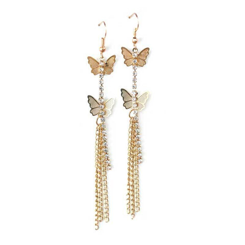 Golden Color Alloy Ear Rings - WOCHER115