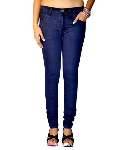 DarkBlue Color Denim Women Jeans - WOMEN-DB