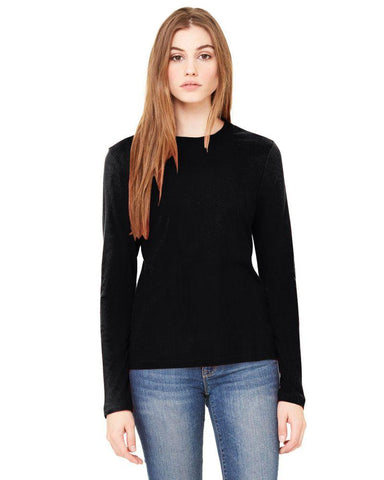 Black Color Knitting Stitched Top - WOMENTOP26