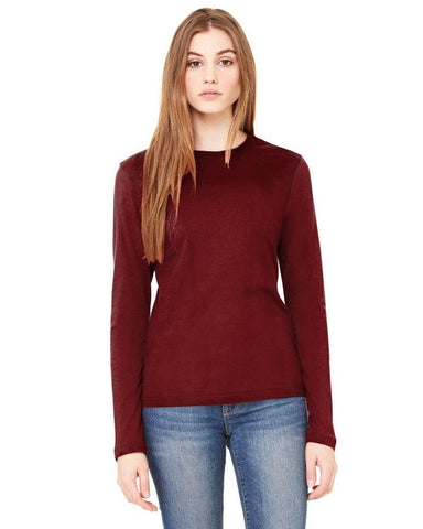 Maroon Color Knitting Stitched Top - WOMENTOP27