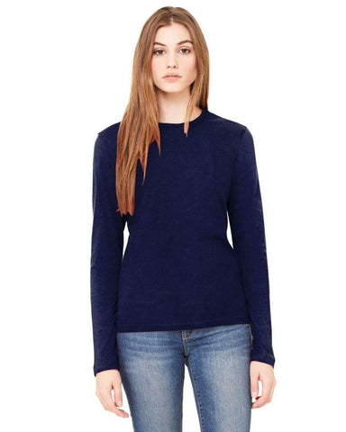 Blue Color Knitting Stitched Top - WOMENTOP28