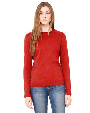 Red Color Knitting Stitched Top - WOMENTOP29