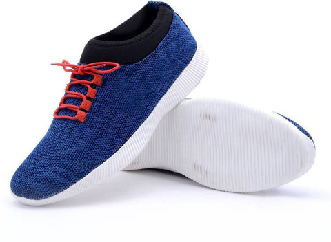 Blue Color Mesh Men Sports Shoe - WS-1002Blue