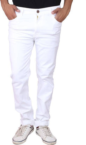 X20 Jeans Regular Men's White Jeans - X20SILKLUSTERWHT