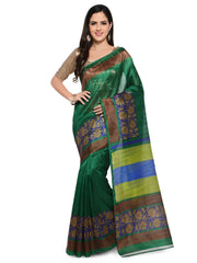 Green Bhagalpuri Saree