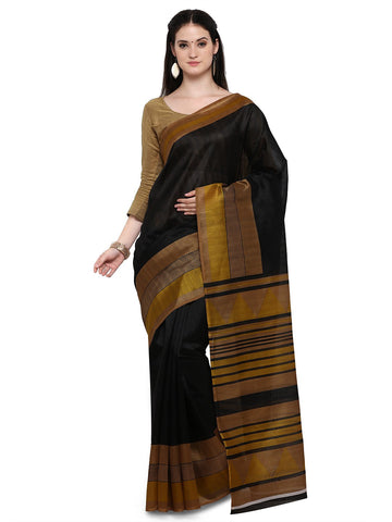 Black Bhagalpuri Saree - YNF-28648